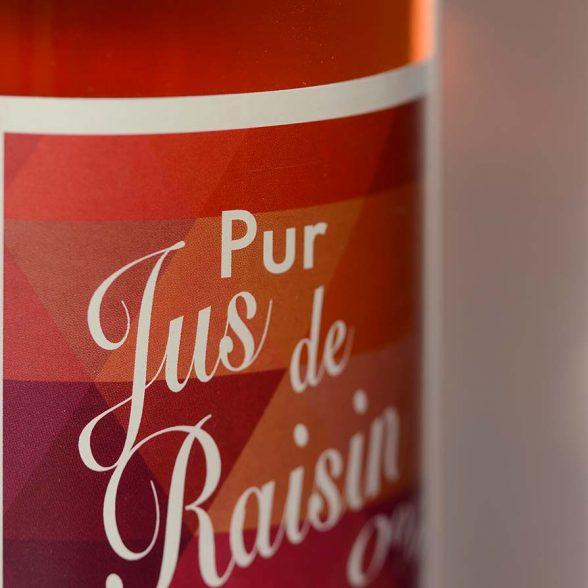 Pur jus de raisin rouge