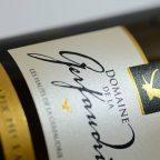 Etiquette de vin moelleux