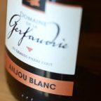 étiquette Anjou blanc vin de Chalonnes sur Loire