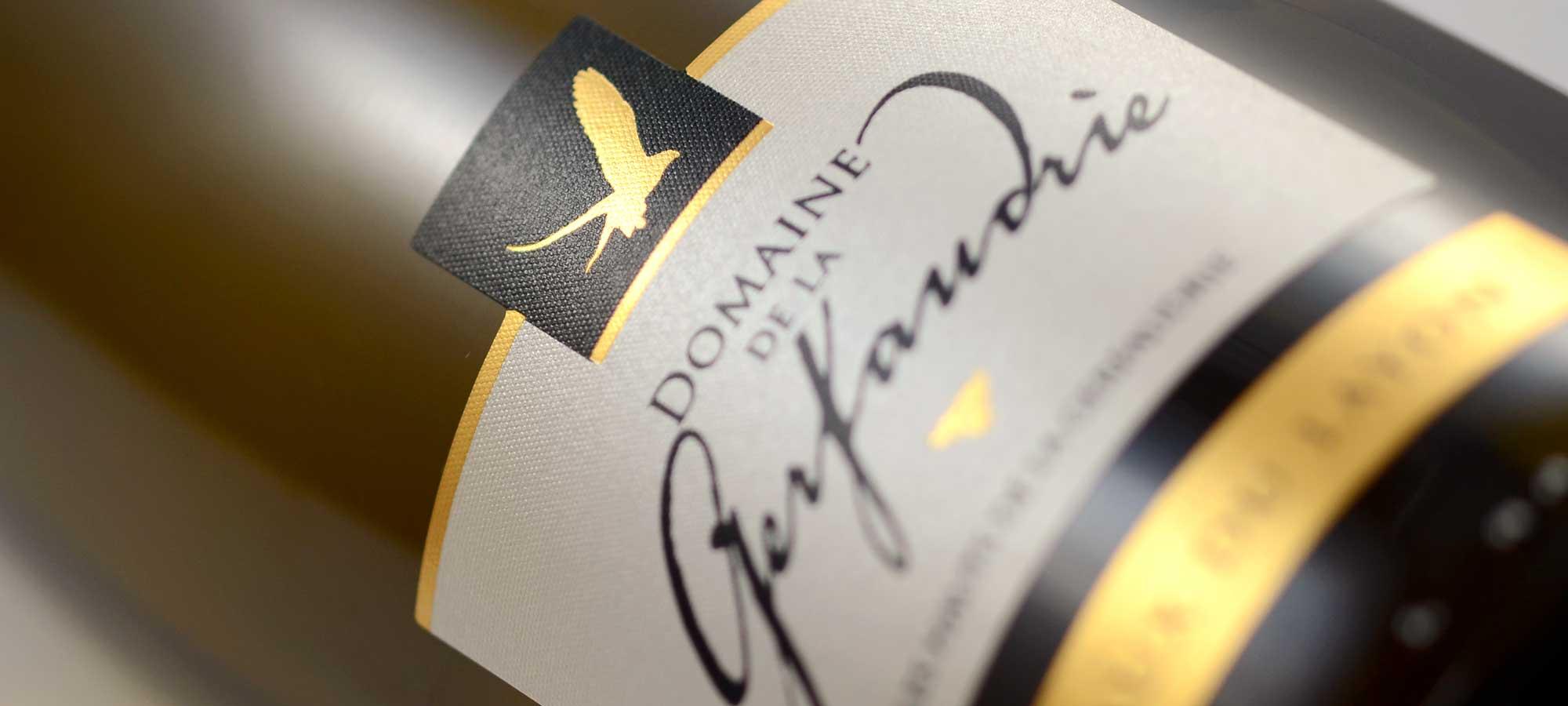 Étiquette vin les Hauts de la Gerfaudrie