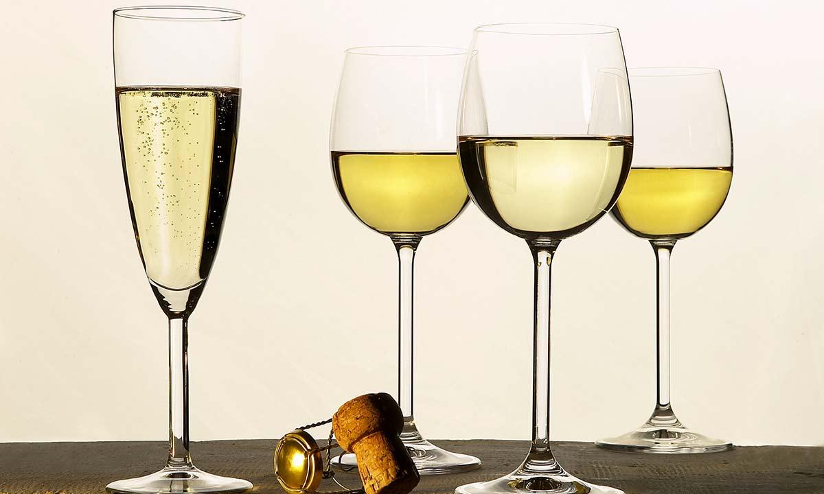 Vins blancs à déguster