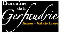 Logo du domaine viticole, Domaine de la Gerfaudrie situé en Anjou - Val de Loire