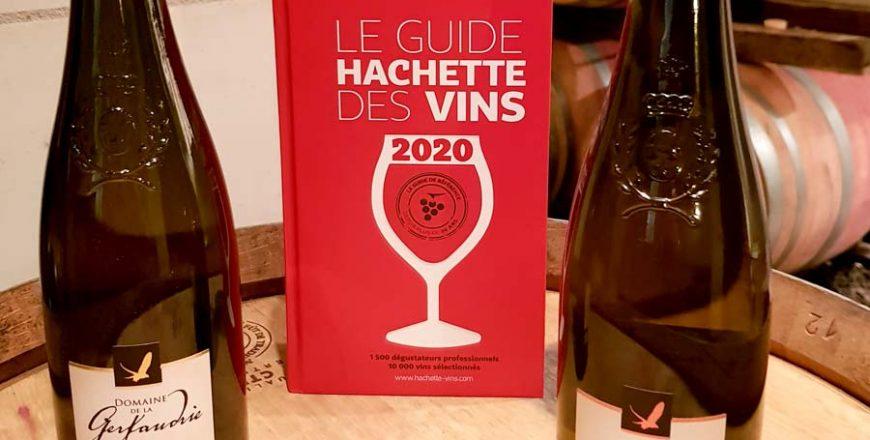 Nous sommes récompensés dans le guide Hachette des vins